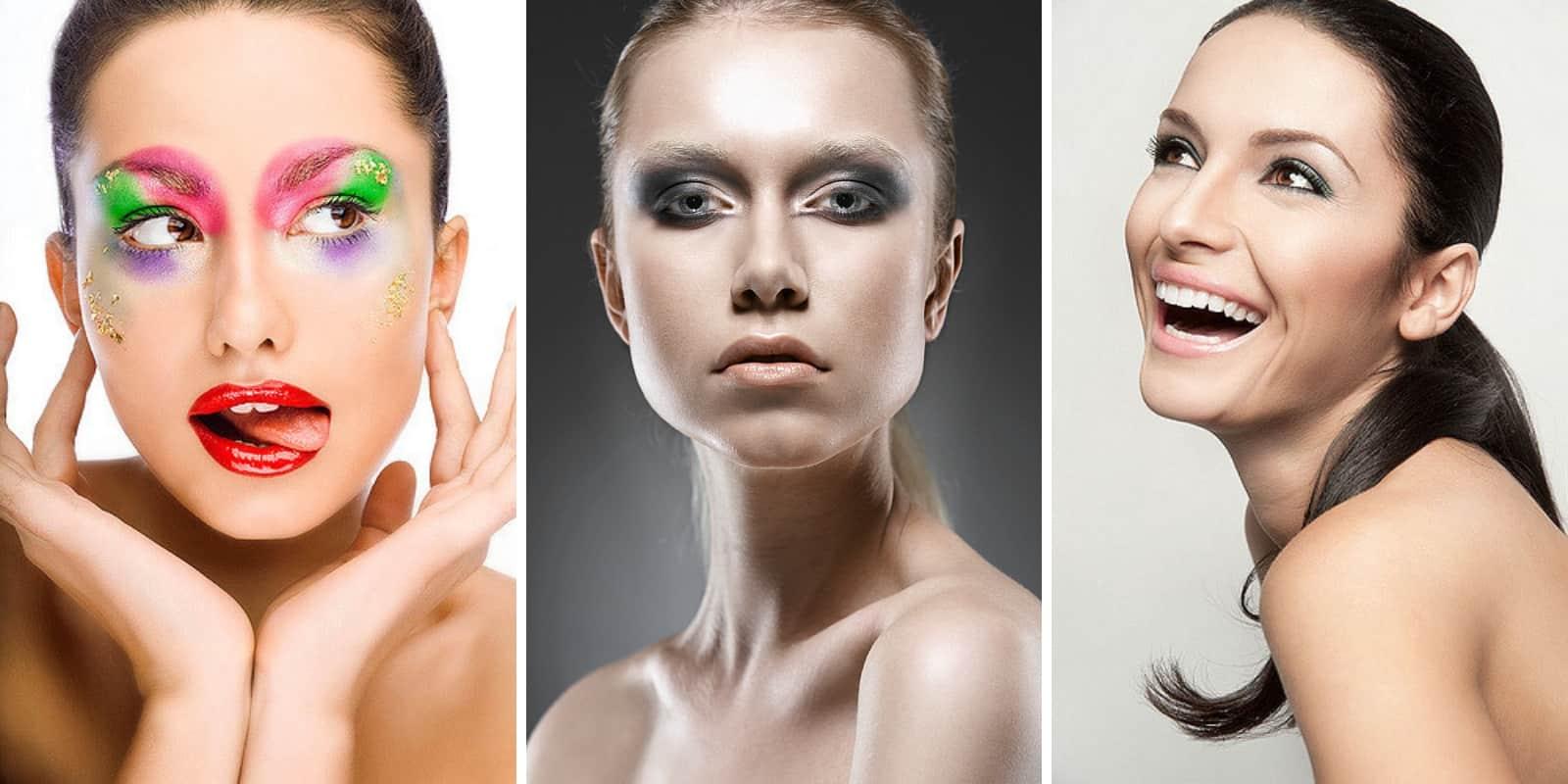 colaboración con maquilladora