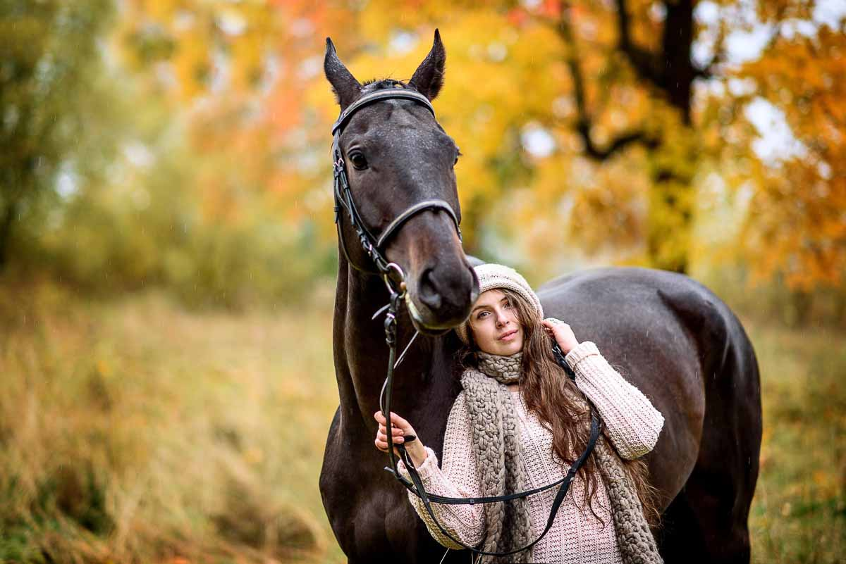 sesion fotografica con caballos en mallorca
